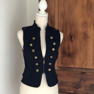 Bebe Military Inspired Vest